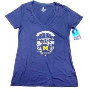 NCAA Wolverines Levelwear Michigan T-Shirt L NWT